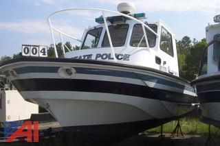 1988 Boston Whaler Challenger 27' Patrol Boat