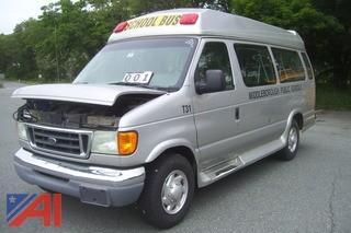 2003 Ford E350 Handicap Van