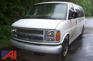 2001 Chevy Express 2500 Van