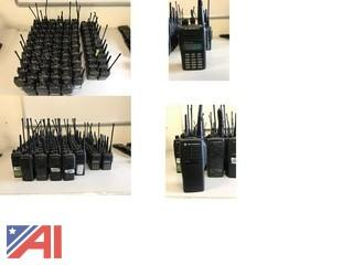 (85+) Motorola Radios / Some w/ Chargers, AC Adapters and Extra Batteries