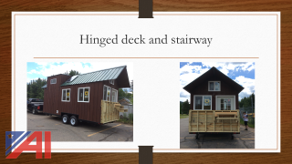 NEW 270 Sq Ft. Tiny House on Trailer
