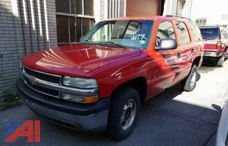 2001 Chevy Tahoe SUV/F444