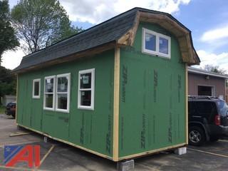 NEW Adirondack Style Storage Structure