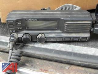 (5) Kenwood VHF FM Transceiver & Low Band FM Transceiver