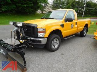 2008 Ford F250 SD Pickup w/ Plow