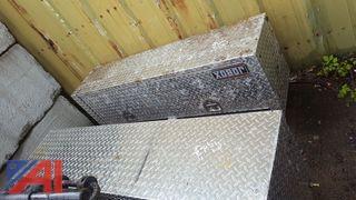 (2) Jobox Aluminum Truck Tool Boxes