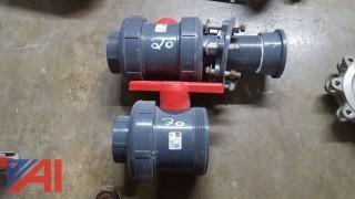 (2) Spears Water Valves