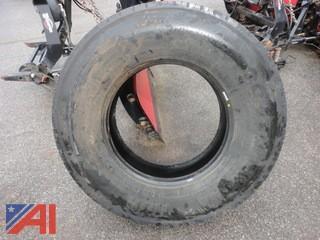 (4) Continental HDR Regional Traffic Truck Tires