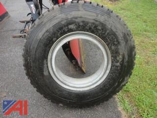 (1) Goodyear Unisteel TD Truck Tire
