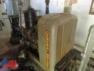 1952 General Motors Detroit Diesel Skid Mounted Engine