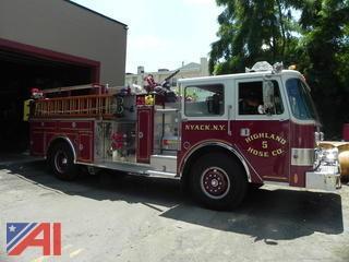 1985 Pierce Pumper Fire Truck