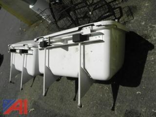 (2) Storage Units That Fit Gem 825 Electric Cars