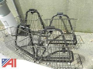 (4) Metal Baskets That Fit Gem 825 Electric Cars