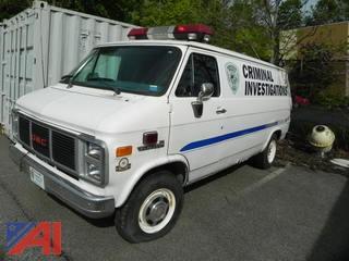 1990 GMC Vandura G3500 HD Cargo Van