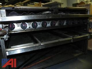 "45"" Commercial Gas Grill"