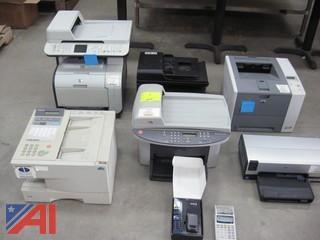 (6) Printers, Nextel Phone, Calculator