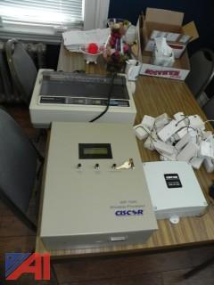 (18) Inovonics FA210 Wireless Alarm Buttons w/ Ciscor WP-100 Wireless Processor