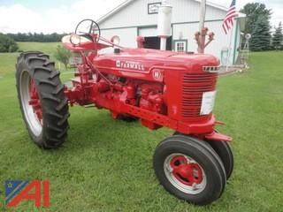 1942 McCormick Farmall International Harvester Tractor