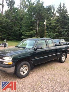 2002 Chevy Silverdo Extended Cab Pickup