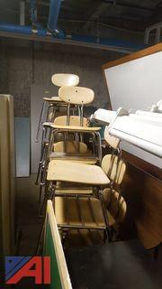 Lot of Student Chairs and More