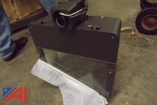 (1) 250 Watt Metal Halide Quad Volt Flood Light