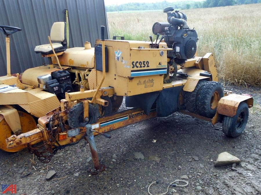 Vermeer Stump Grinder For Sale >> Auctions International Auction Business Liquidation 11448 Item