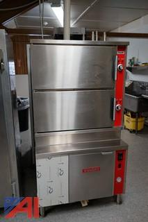 Vulcan Natural Gas Cooker Food Steamer - NEVER USED