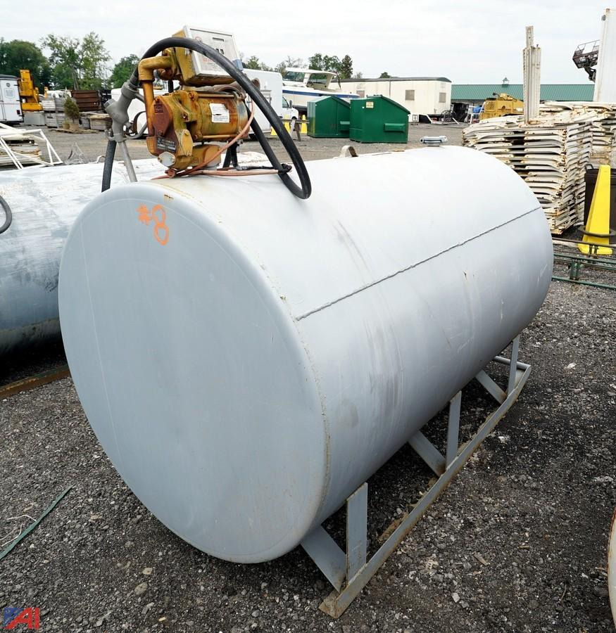 500 Gallon Fuel Tank >> Auctions International Auction Estate Business