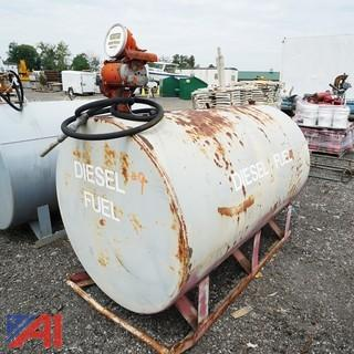 Skid Mounted Diesel Storage Tank 500 Gallon