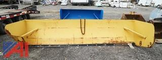 12' Commercial Snow Push Blade