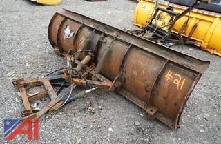 7.5' Snow Plow and Frame Unit
