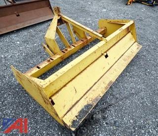 6' Box Scraper 3-Point Hitch Mount