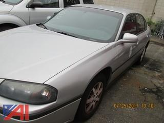 2001 Chevy Impala 4 Door
