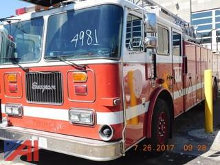 1997 Seagraves Aerial Fire Truck