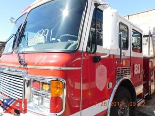 1999 American LaFrance Towerladder Fire Truck