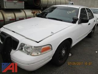 2007 Ford Crown Victoria 4DSD/Police Interceptor