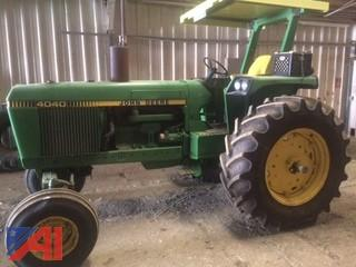 Early 80's John Deere 4040 Tractor
