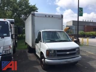 2001 Chevy Express G3500 Box Truck