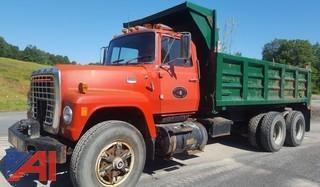 1978 Ford L9000  6x4 Dump Truck