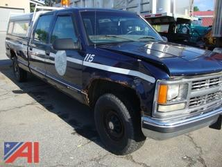#1287 2000 Chevy C/K 3500 Pickup