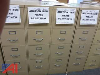 (4) File Cabinets, Standard (#1289)