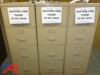 (3) File Cabinets, Legal (#1299)