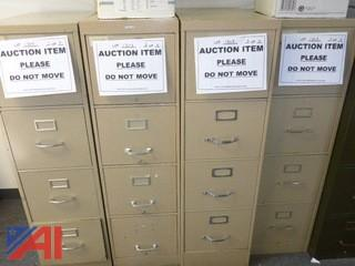 (4) File Cabinets, Standard (#1303)