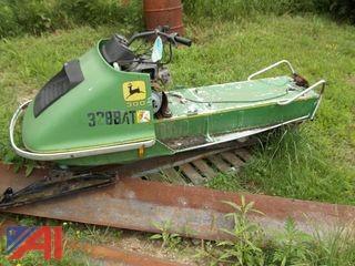 John Deere 300 Snowmobile