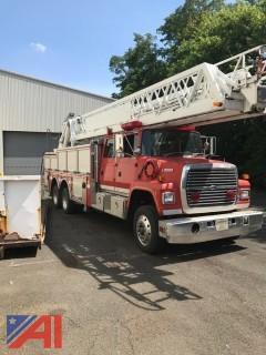 1994 Ford LT9000 105' Aerial Ladder Truck