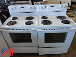(2) Whirlpool Electric Stoves