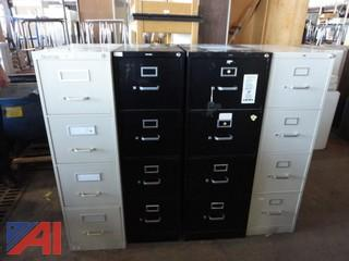 Lot of Assorted Filing Cabinets