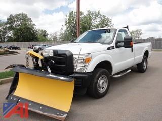 2013 Ford F250 Pickup/Plow 4 X 4