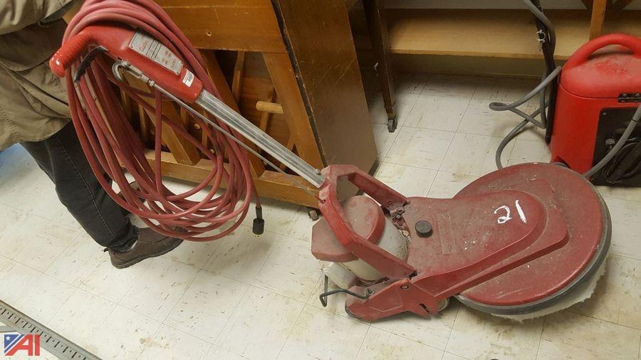 Auctions International - Auction: Cazenovia Schools Surplus #11663 ITEM: Clarke Floor Buffer
