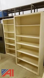 (3) Book Shelves